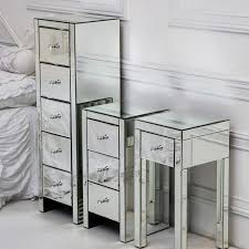 Mirrorred furniture Grey Show Gopher Mirrored Furniture Collection