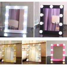 led vanity lighted hollywood makeup mirror dimmer se touch beauty table l