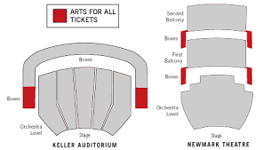 Newmark Theater Seating Chart Arts For All Oregon Ballet Theatre