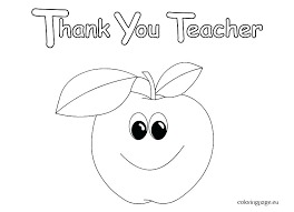 Card Coloring Pages Coloring Thank You Card Coloring Page Teacher