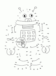 Small Picture Connect The Dots Christmas Coloring Page