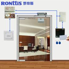 get ations ronttis luo disi access control system kit touch password swipe card lock glass door