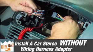 how to install a radio out a wiring harness adapter how to install a radio out a wiring harness adapter