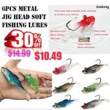 <b>10Pcs</b>/<b>Lot</b> 70Mm 6G Split Tail Fishing Baits Fishing <b>Lead</b> Jig Head ...
