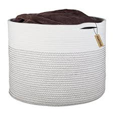 extra large woven laundry basket. Wonderful Large INDRESSME Extra Large Storage Baskets Cotton Rope Basket Woven Bin  For Laundry Organization Baby In N