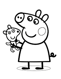 Free download 40 best quality peppa pig family coloring pages at getdrawings. Peppa Pig Coloring Pages Free Printable Coloring Pages For Kids