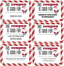 Christmas Gift Coupon Shes Crafty Last Minute Gift Idea Christmas Coupons