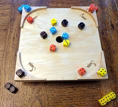 Wooden Sequence Board Game Rummoli Game Tray Unique Wood Products 72