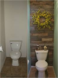 Unique diy bathroom ideas using wood Shelf Great Project Free Toilet Room Makeover Using Pallet Wood And Leftover Paint Pinterest Great Project Free Toilet Room Makeover Using Pallet Wood And