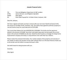 Advertising Proposal Letter Sample Advertising Proposal Letters