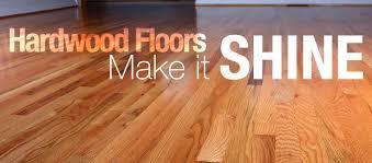 make hardwood floors shine