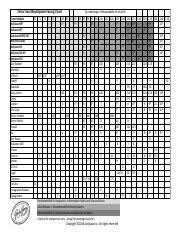 Facing Chart Tenor 2018 Update Pdf Tenor Sax Mouthpiece