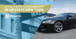 getting an automobile insurance quote in new york
