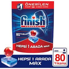 Finish Hepsi Bir Arada 80 Tablet Bulaşık Makinesi Deterjanı Fiyatı