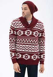Mens Patterned Sweaters