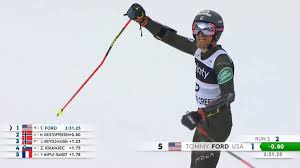 U.S. Ski & Snowboard Team - Tommy Ford Beaver Creek GS Victory ||  #OneTeamBestMoments