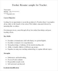Good Resume Examples For First Job Format 7 Perfect Example Form