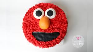 How To Make An Elmo Cake Easy Elmo Cake Recipe Youtube
