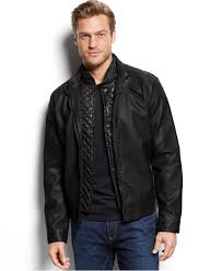 gallery previously sold at macy s men s shearling denim jackets