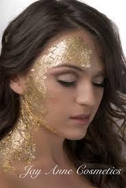 gold leaf makeup