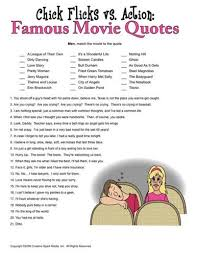Movie Quote Trivia Gorgeous Mixed Movie Trivia Questions Party Ideas Pinterest Famous
