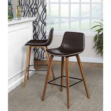 Simple Living Wapoli Mid-Century Bar Stool (Set of 2)