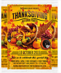 thanksgiving party flyer 18 thanksgiving flyers free psd ai eps format download free