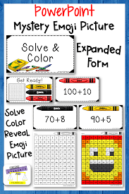 Numbers To 120 Solve And Color Expanded Form