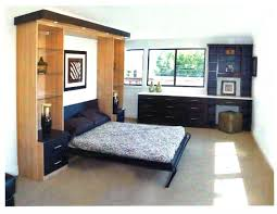 image of simple side mount murphy bed
