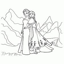 Niewu Kleurplaten Van Elsa Dejachthoorn