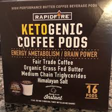 Rapid fire is packaged in canisters or individual serving pods. Fast Cliffy Review Time Rapidfire Ketogenic Coffee Pods Keto Noir