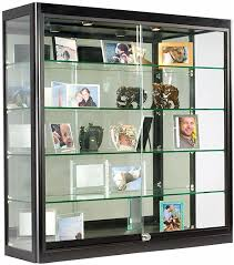 com glass display case that is