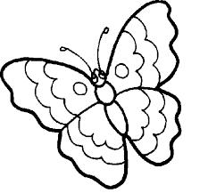 Disegno Di Farfalla 13 Da Colorare Acolorecom
