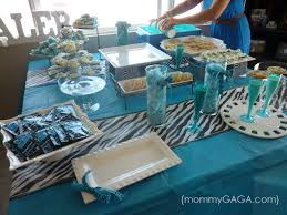 Turquoise Baby Shower Decorations Top 58 Ideas About Baby Shower Blue Safari On Pinterest Baby