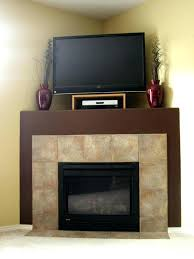 installing flat screen tv over fireplace a explore fireplace design corner gas flat screen installing over