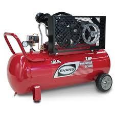 compresor. compresor portatil de 2 hp - 108 litros evans e13vme200-108