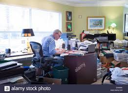 messy office pictures. Businessman In Messy Home Office, USA Office Pictures S