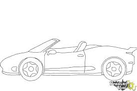 car drawing easy step by step. Beautiful Easy How To Draw A Car Easy  Step 8 To Drawing By D
