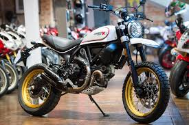 used white ducati scrambler for sale south yorkshire