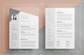 Resume/CV | Cover letter | Easy to edit templates | 3 Page Resume |