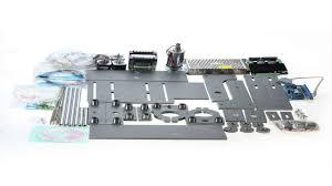 konmison diy cnc router kits wood carving milling engraving machine 7x7 110