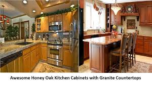 kitchen cabinet oak kitchen cabinets with granite countertops awesome honey oak kitchen cabis