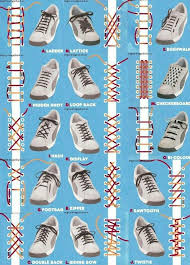 Cool Shoelace Patterns
