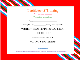 parenting certificate templates professional training certificate template from word templates
