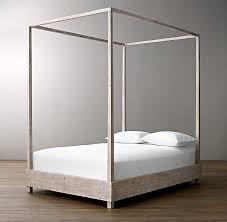 Callum Platform Canopy Bed