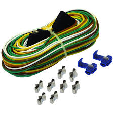25 ft trailer wire harness with full ground br59373 the home depot motorcycle wire harness connectors at Harness Wire Connectors