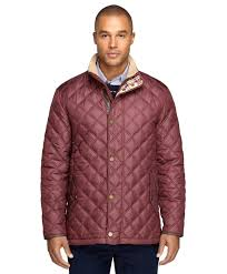 Lyst - Brooks brothers Quilted Jacket in Purple for Men & Gallery Adamdwight.com