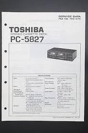 toshiba pc 5827 original service manual guide wiring diagram o43 toshiba pc 5827 original service manual guide wiring diagram o43
