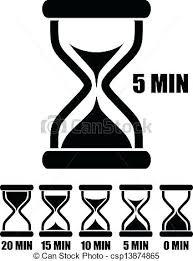 Set Timer Five Minutes Set Timer 5 Minutes Vector Sand Glass Timer Ewsiran Info