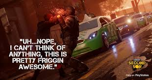 SUCKERPUNCH RELEASE OFFICIAL INFAMOUS: SECOND SON MEMES | PS4 Fans via Relatably.com